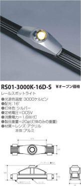 RS01-3000K-16D-S